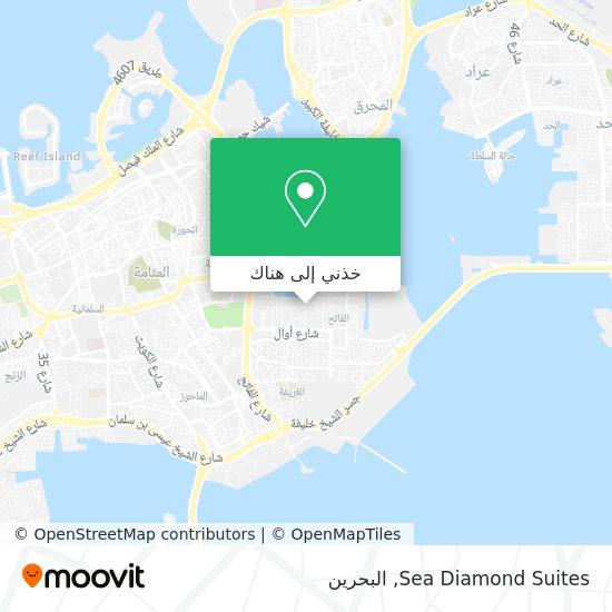 خريطة Sea Diamond Suites