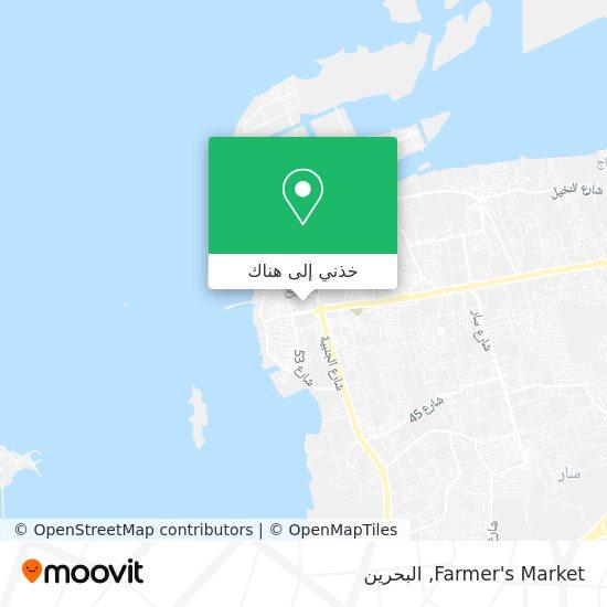 خريطة Farmer's Market
