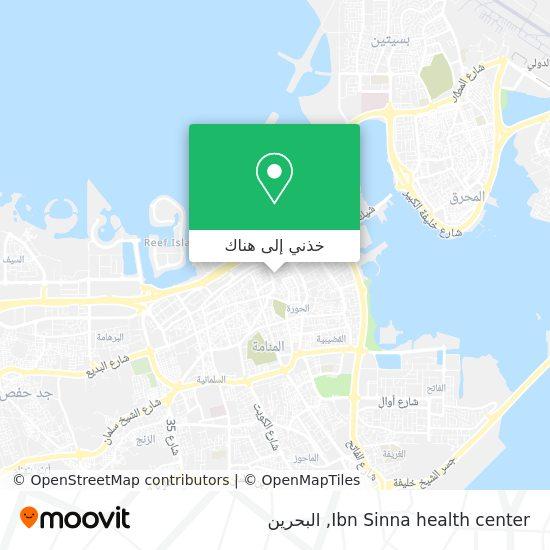 خريطة Ibn Sinna health center