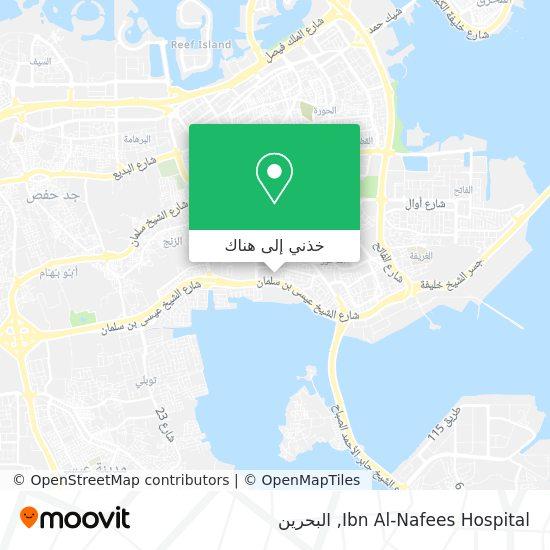 خريطة Ibn Al-Nafees Hospital