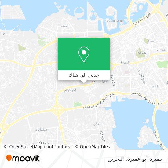 خريطة مقبرة أبو عمبرة