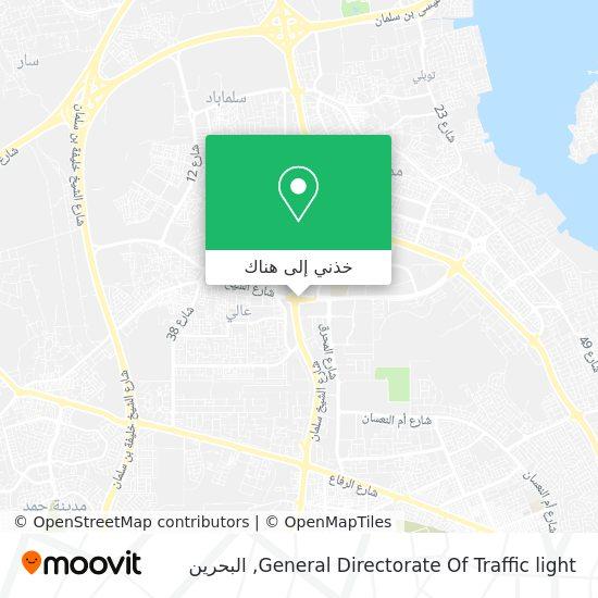 خريطة General Directorate Of Traffic light