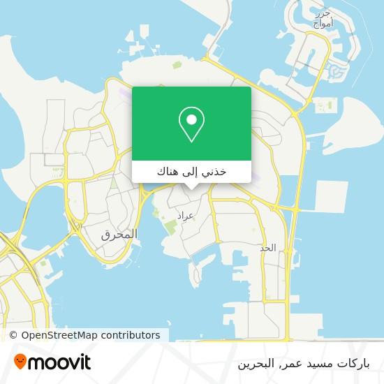 خريطة باركات مسيد عمر