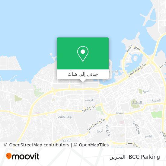 خريطة BCC Parking