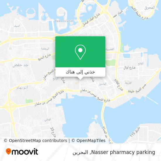 خريطة Nasser pharmacy parking