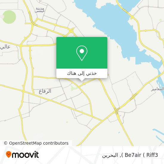 خريطة Be7air ( Riff3 )