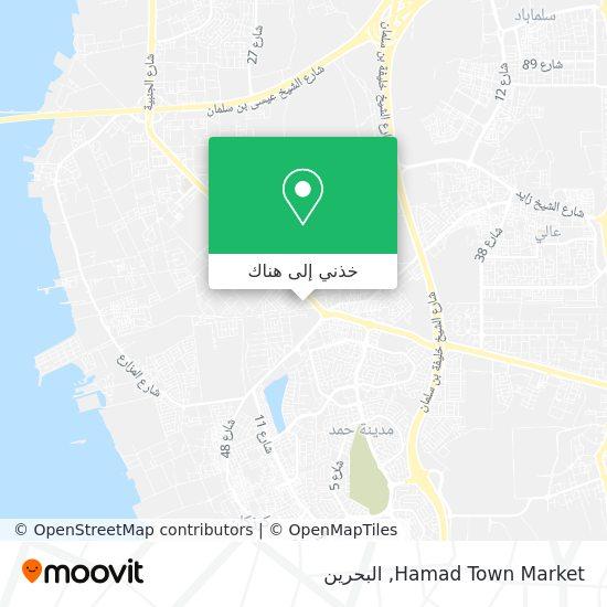 خريطة Hamad Town Market