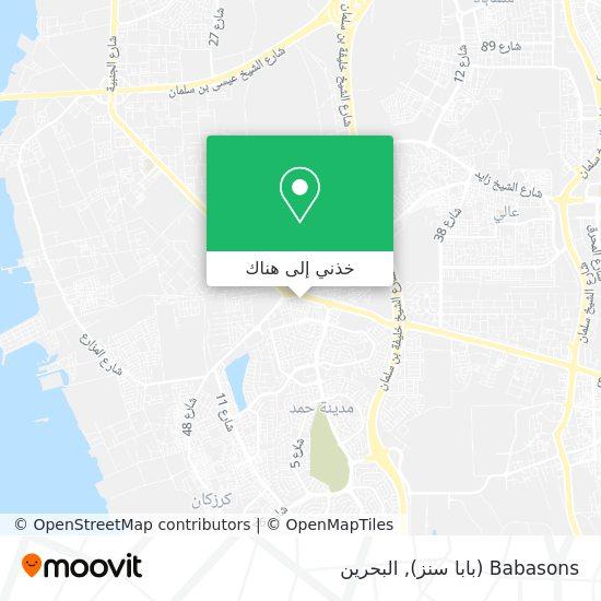 خريطة Babasons (بابا سنز)