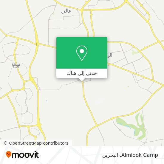 خريطة Almlook Camp