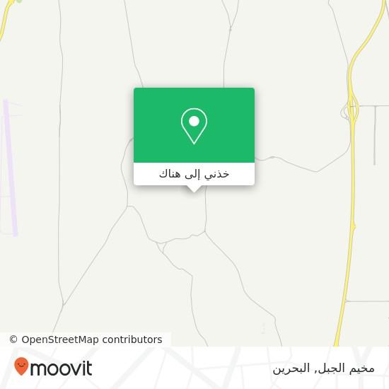 خريطة مخيم الجبل
