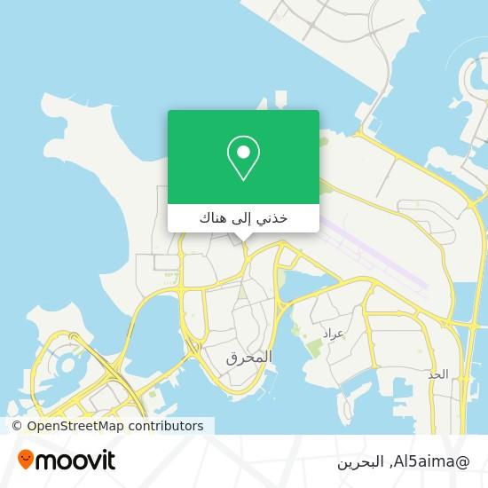 خريطة @Al5aima