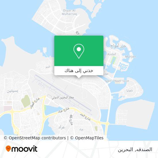 خريطة الصندقه