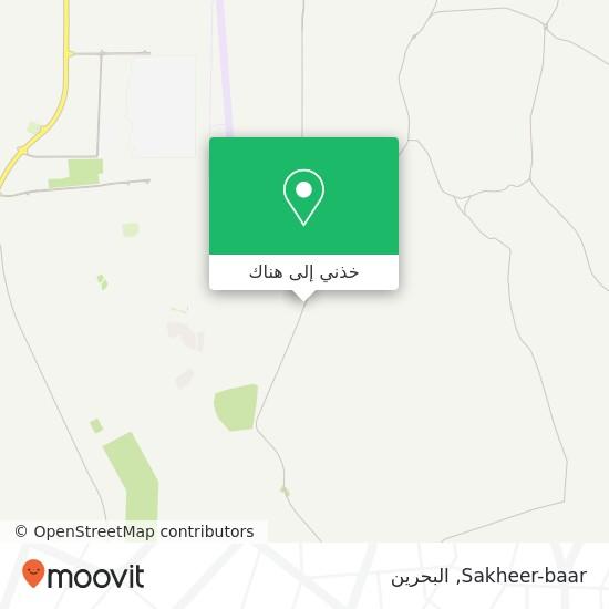 خريطة Sakheer-baar
