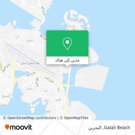 خريطة Galali Beach
