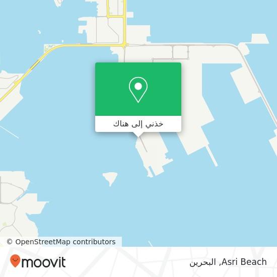 خريطة Asri Beach