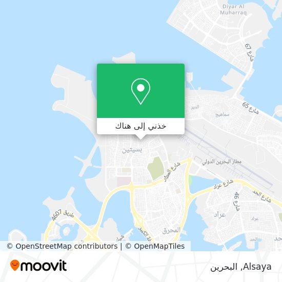 خريطة Alsaya