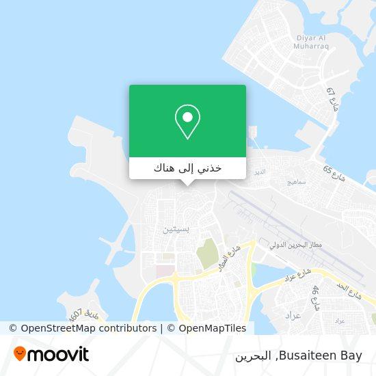 خريطة Busaiteen Bay