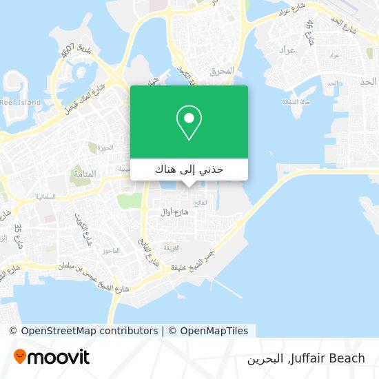 خريطة Juffair Beach