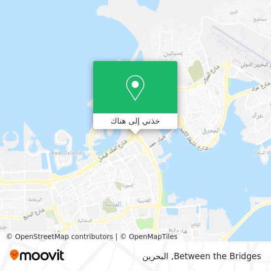 خريطة Between the Bridges