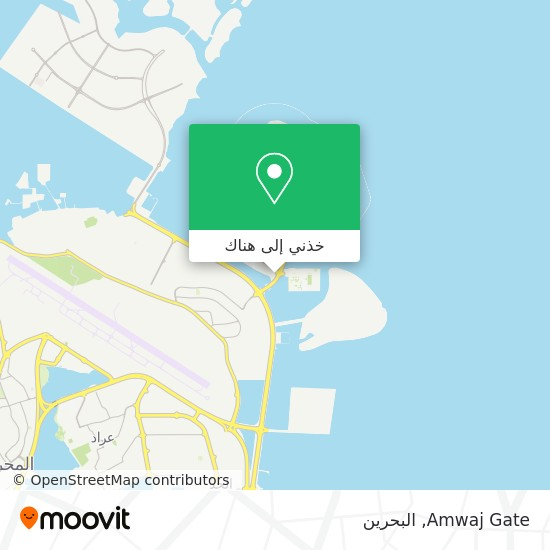 خريطة Amwaj Gate