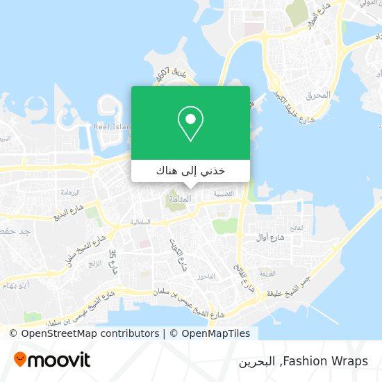 خريطة Fashion Wraps