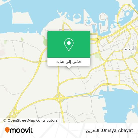 خريطة Umsya Abayat