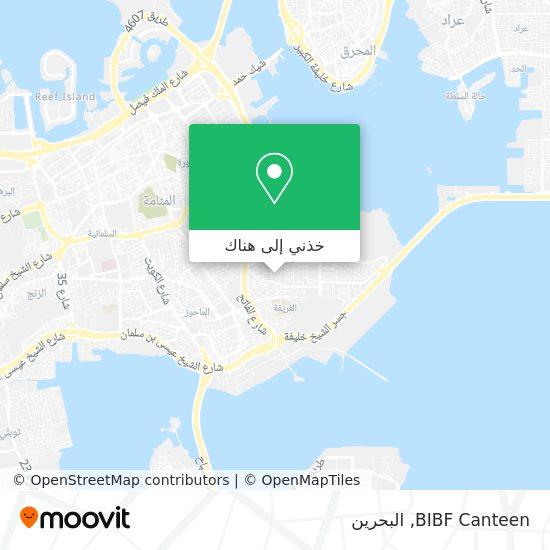 خريطة BIBF Canteen