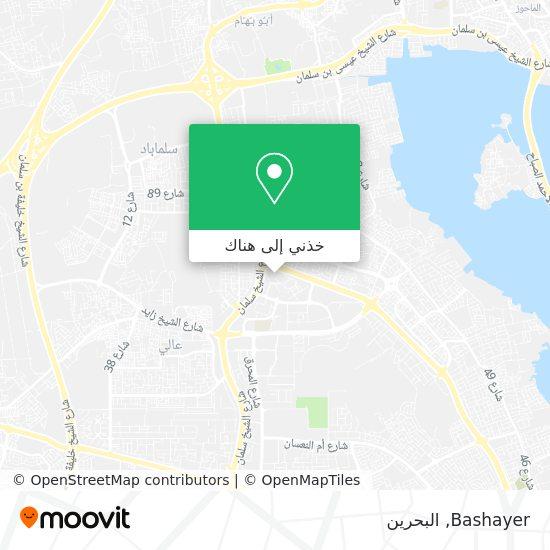 خريطة Bashayer