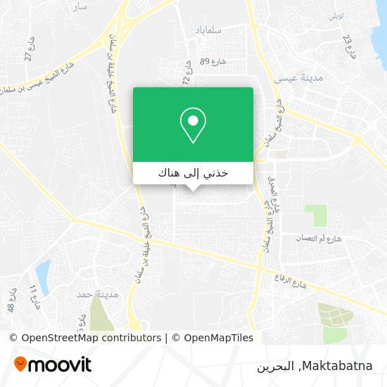 خريطة Maktabatna