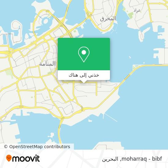 خريطة moharraq - bibf