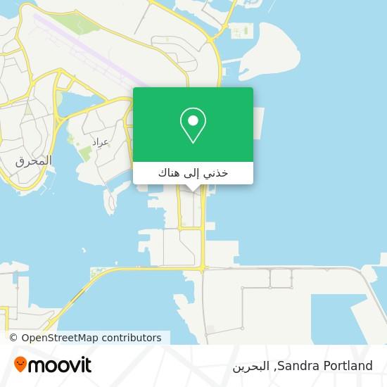 خريطة Sandra Portland