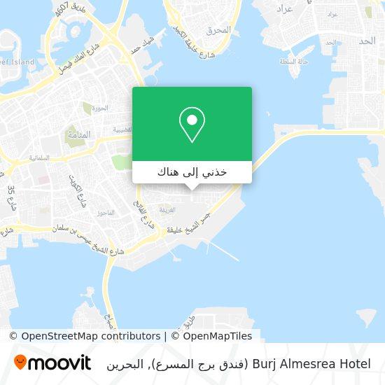 خريطة Burj Almesrea Hotel (فندق برج المسرع)