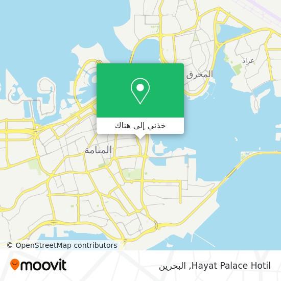 خريطة Hayat Palace Hotil