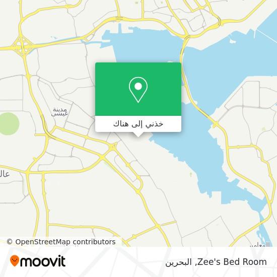 خريطة Zee's Bed Room