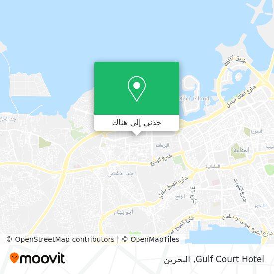 خريطة Gulf Court Hotel