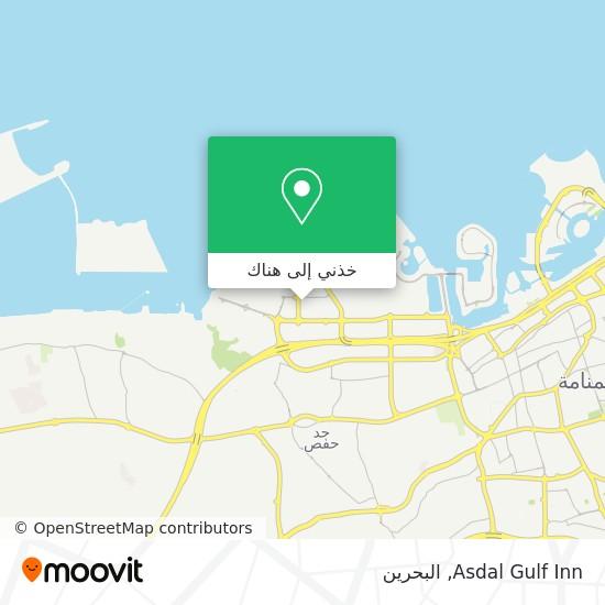 خريطة Asdal Gulf Inn