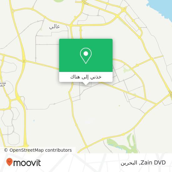 خريطة Zain DVD