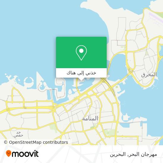 خريطة مهرجان البحر
