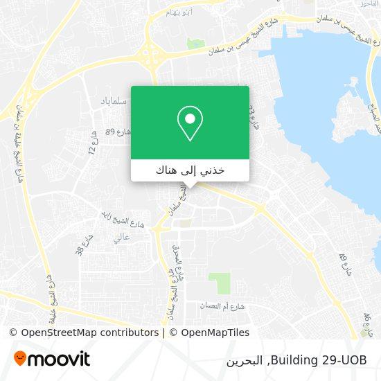 خريطة Building 29-UOB