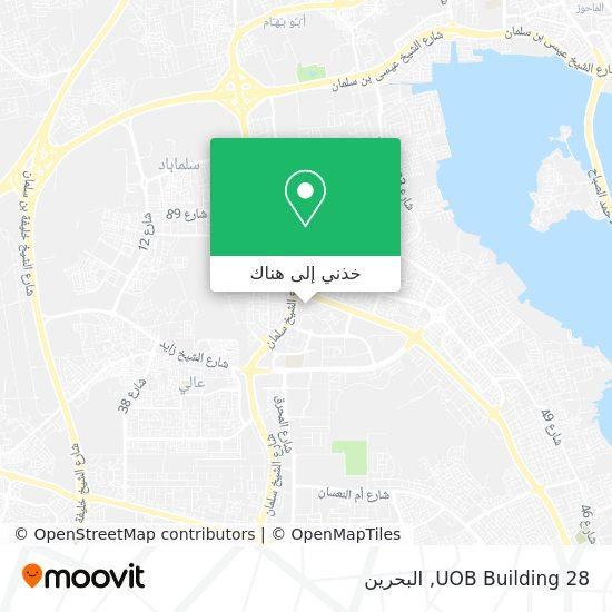 خريطة UOB Building 28