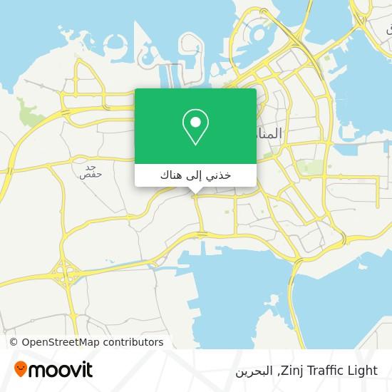 خريطة Zinj Traffic Light