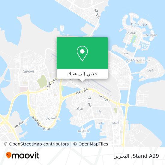 خريطة Stand A29