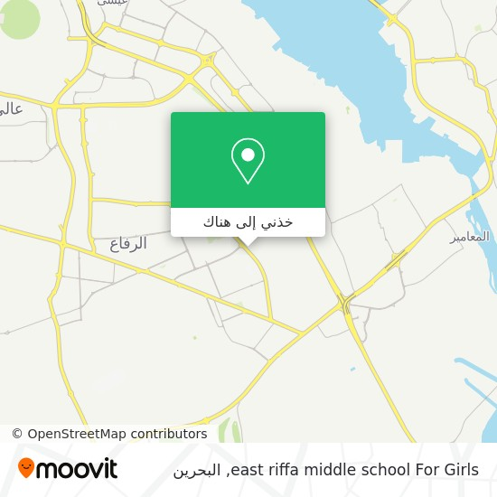 خريطة east riffa middle school For Girls