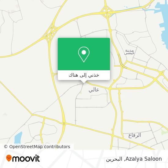 خريطة Azalya Saloon