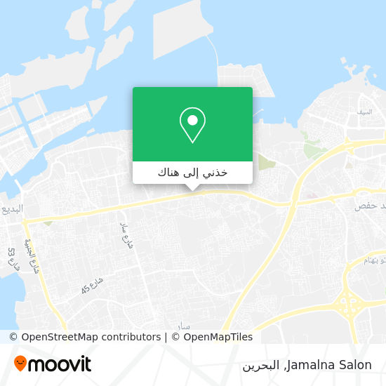 خريطة Jamalna Salon