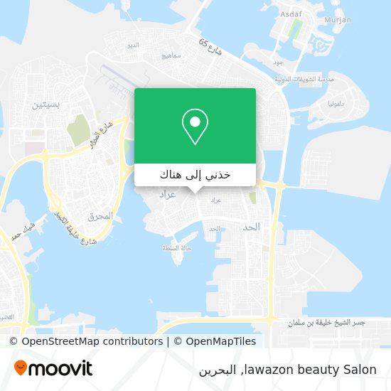 خريطة lawazon beauty Salon