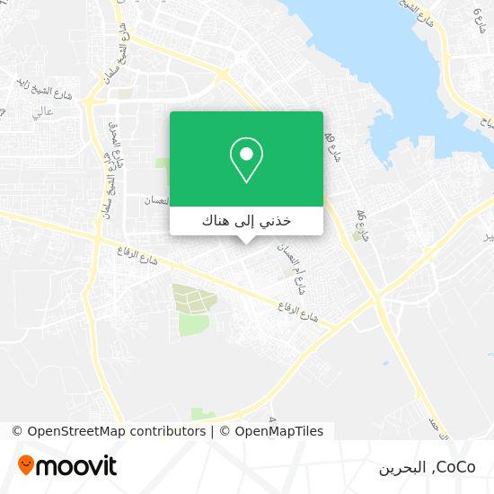 خريطة CoCo