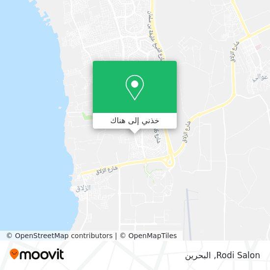 خريطة Rodi Salon