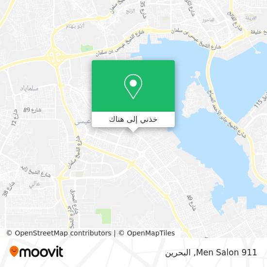 خريطة 911 Men Salon