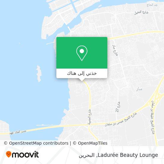 خريطة Ladurée Beauty Lounge